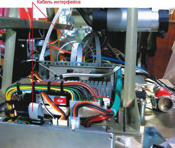 Электромагнитная помеха с пиком частоты 300 МГц вышла по интерфейсному ленточному кабелю