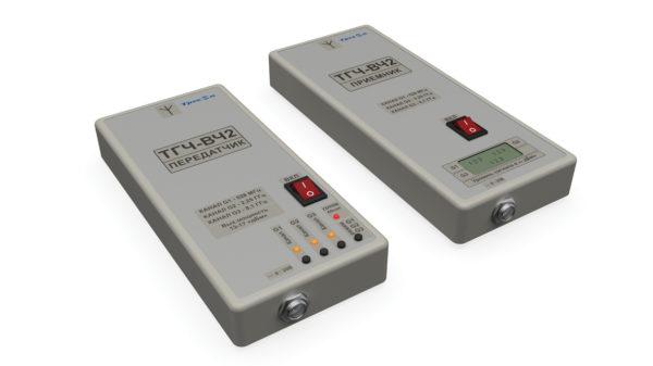 Передатчик и приемник трехчастотного СВЧ-измерителя ТГЧВЧ2