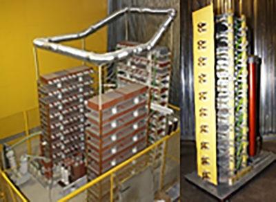 Исследование экранирования стен зданий ЛАЭС-2
