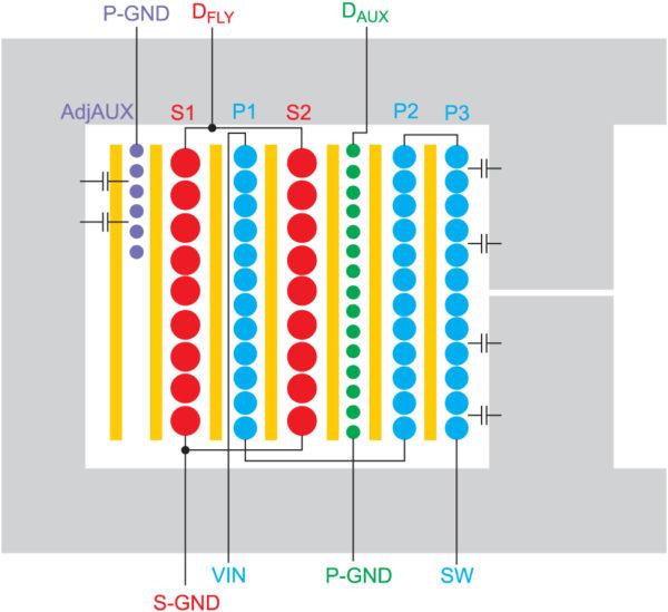 Намотка трансформатора с дополнительной секцией