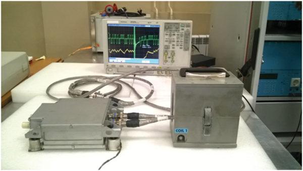 Испытательная установка для исследования воздействия затухающей синусоидальной импульсной помехи