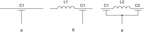 Электрические схемы ФНЧ