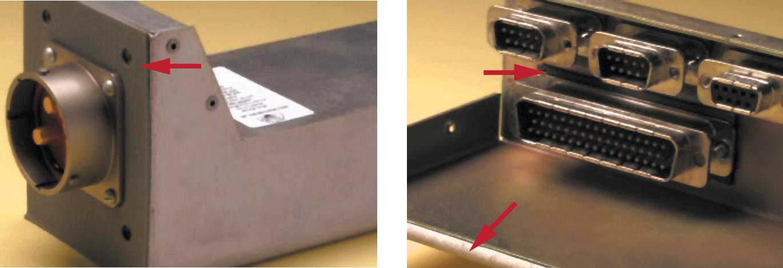 Примеры установки экранирующих прокладок