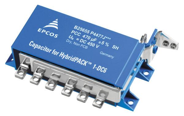 Компактный экономичный DC-link конденсатор B25655P4477J