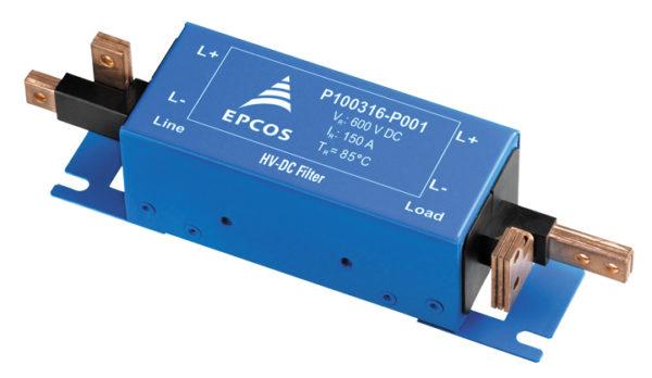 Высоковольтные фильтры EPCOS (EPCOS DC HV EMC filter) для шин постоянного тока автомобильных инверторов