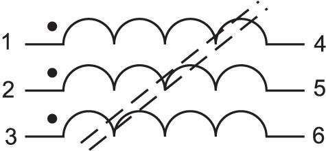 Структура трехфазных дросселей WETPB HV