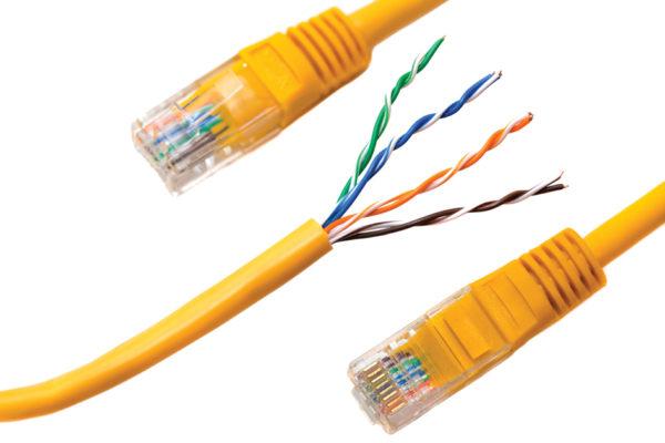 Конструкция Ethernet-кабеля