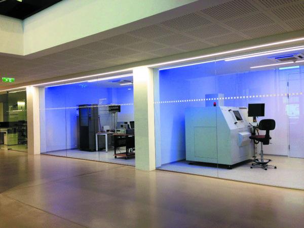 Лаборатории для различных видов испытаний на соответствие качеству и нагрузочных испытаний