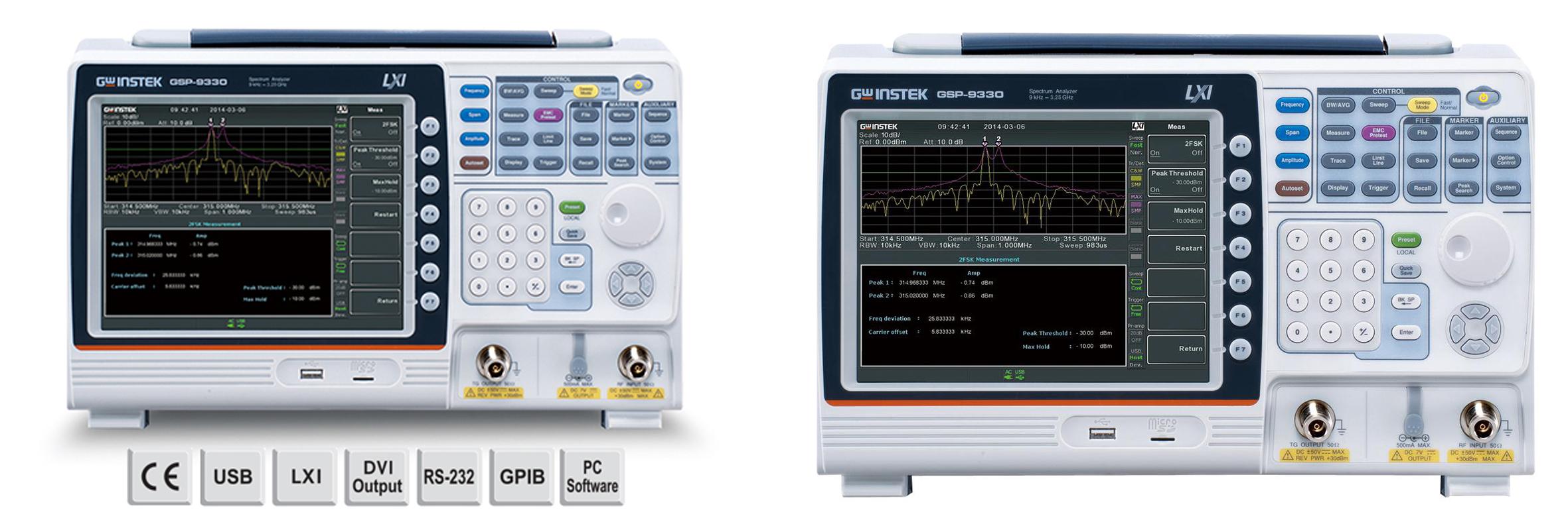Анализатор спектра GSP-79330A от компании GW Instek