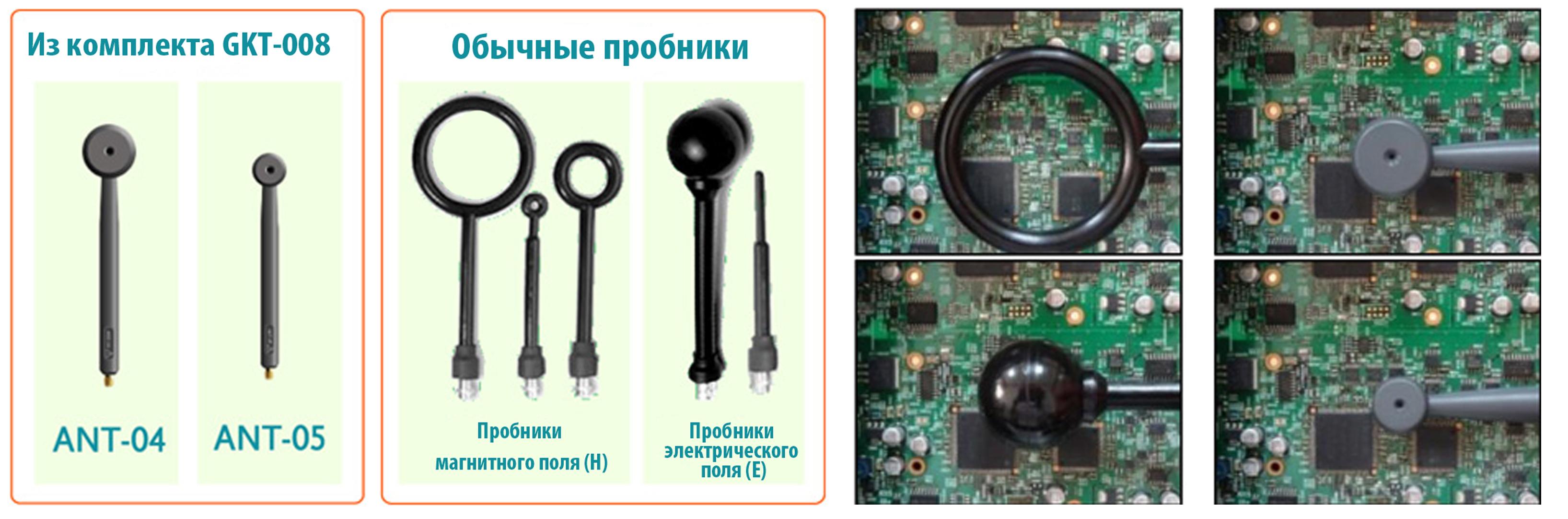 Внешний вид пробников ANT04 и ANT-05 из комплекта GKT-008 от компании GW Instek и сравнение с обычными предложениями на рынке