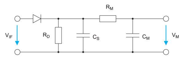 Схема среднепикового детектора