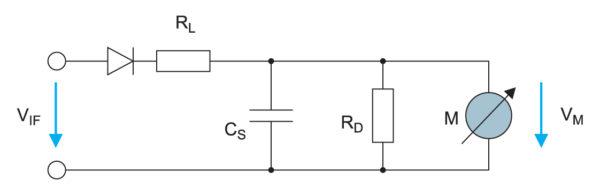 Схема квазипикового детектора