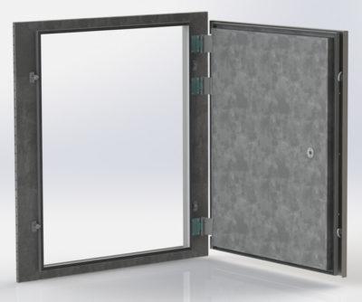 Экранированная дверь для экранированной камеры