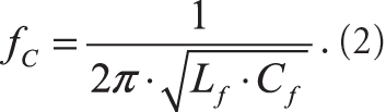 Частота среза LC-фильтра
