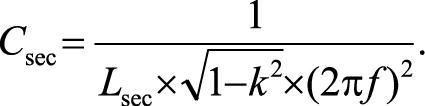 формула Резонансный конденсаторный приемник