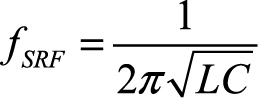 частота собственного резонанса колебательного контура
